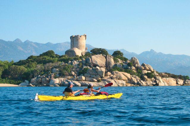 Un séjour Kayak en Corse