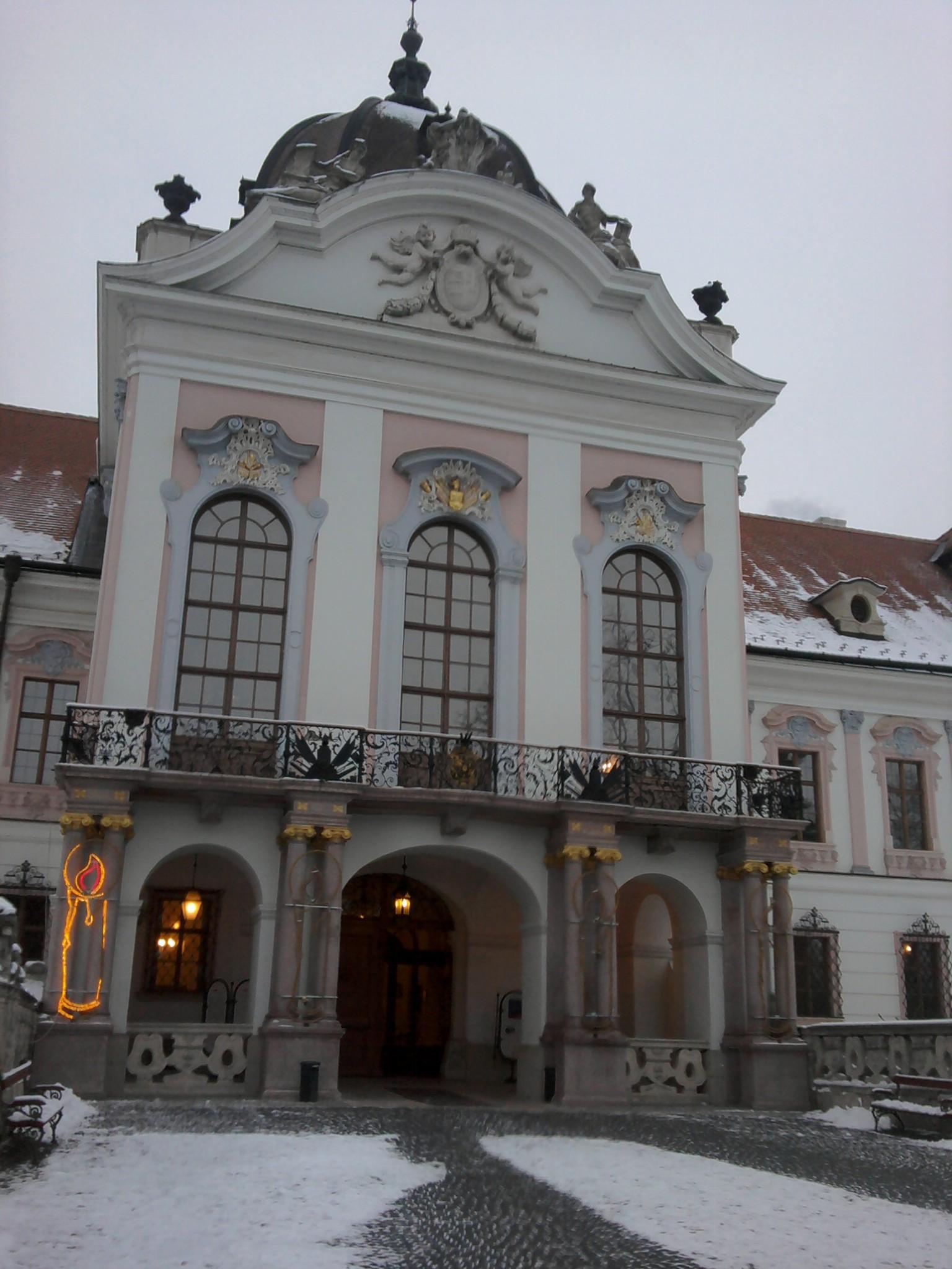 Entrée du château Gödöllő