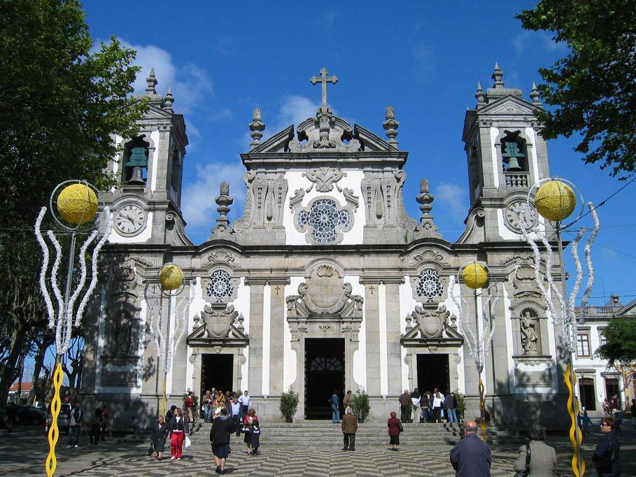Igreja de Matosinhos au Portugal
