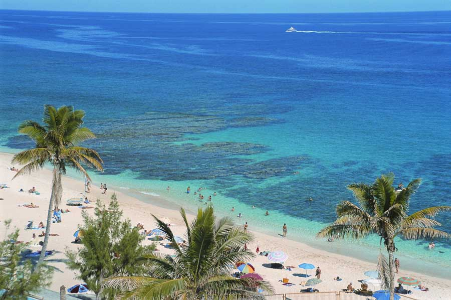 Une plage de La Réunion