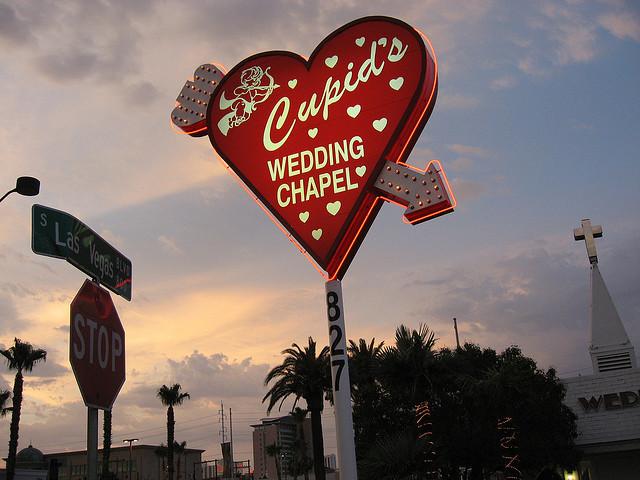Une chapelle à Las Vegas