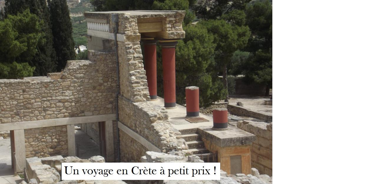 Voyage en Crète / Grèce pas cher