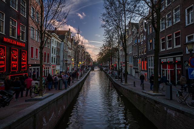 Le quartier rouge d'Amsterdam : De Wallen