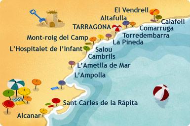 Carte De La Costa Dorada