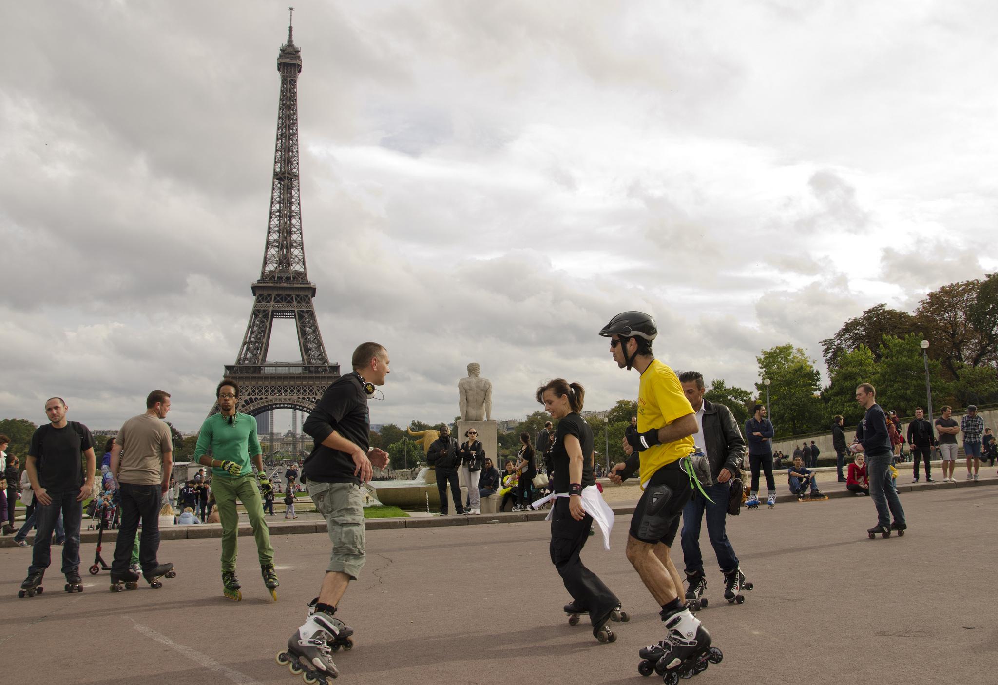 Rando roller à Paris