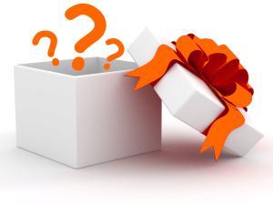 Boite cadeau surprise