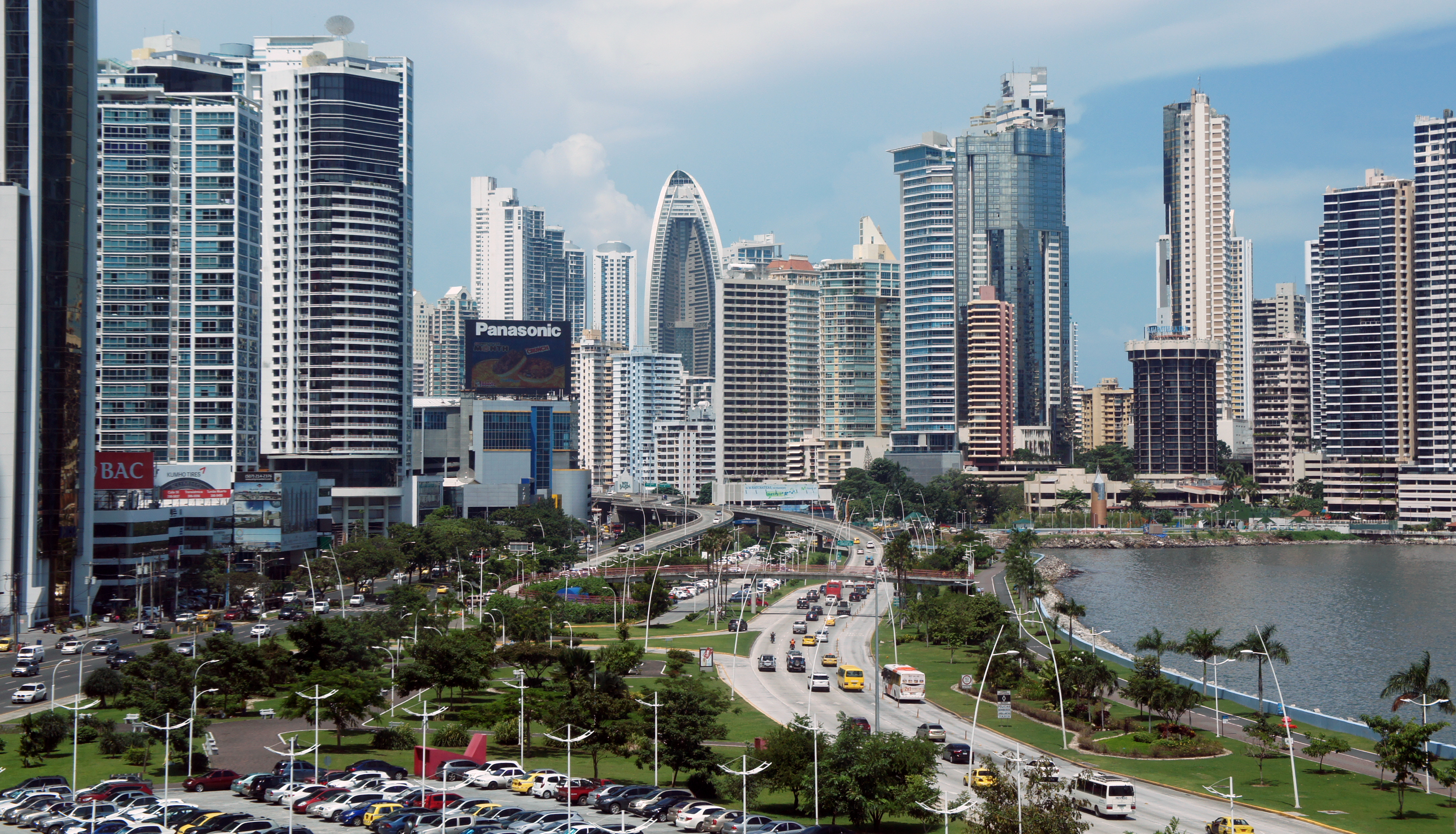 Avenida Balboa à Panama City