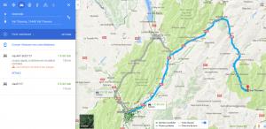 Itinéraire Grenoble / Val Thorens