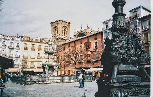 Plaza de Bib-Rambla - Granada
