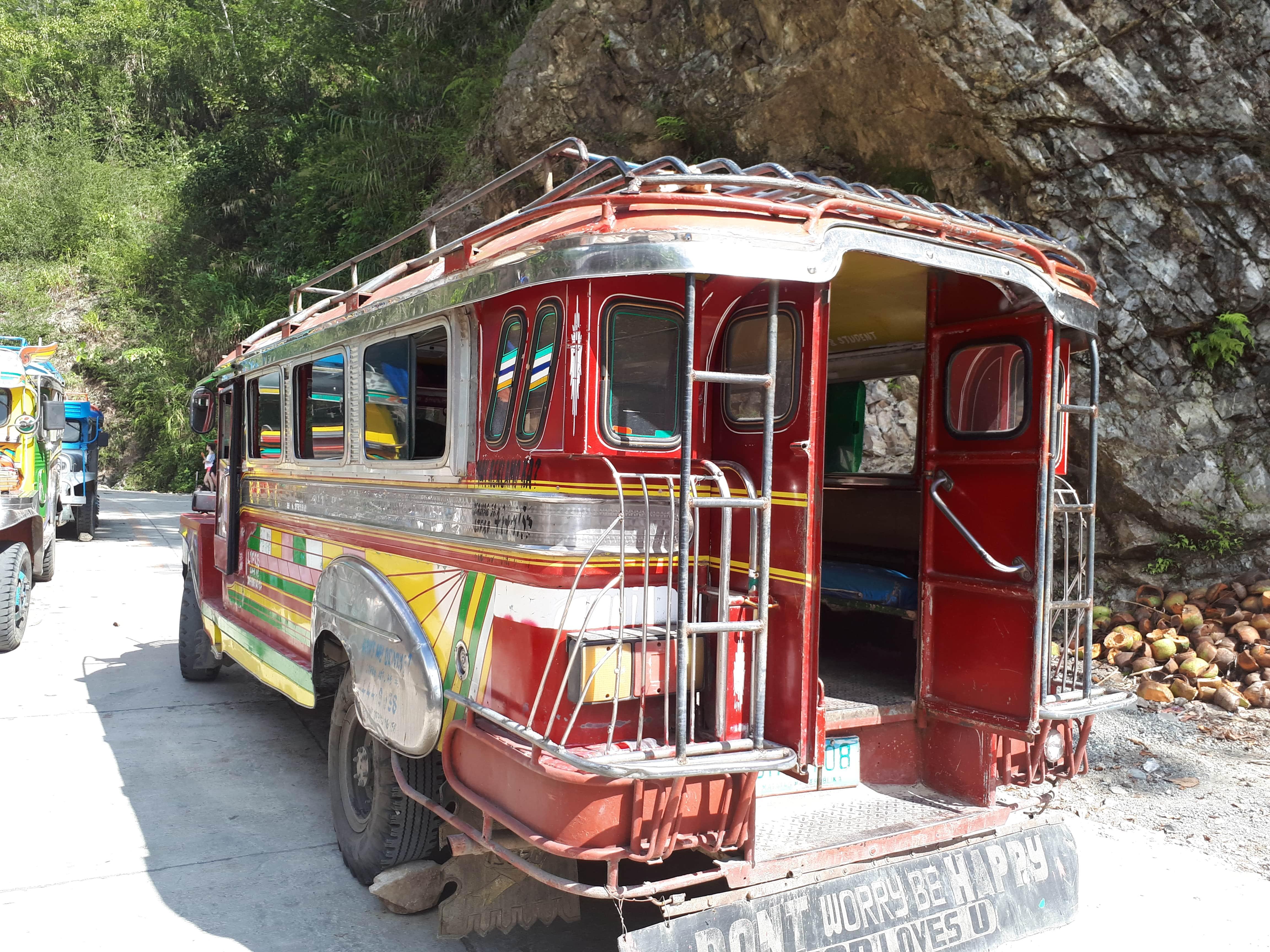 La Jeepney pour notre trajet Batad Banaue