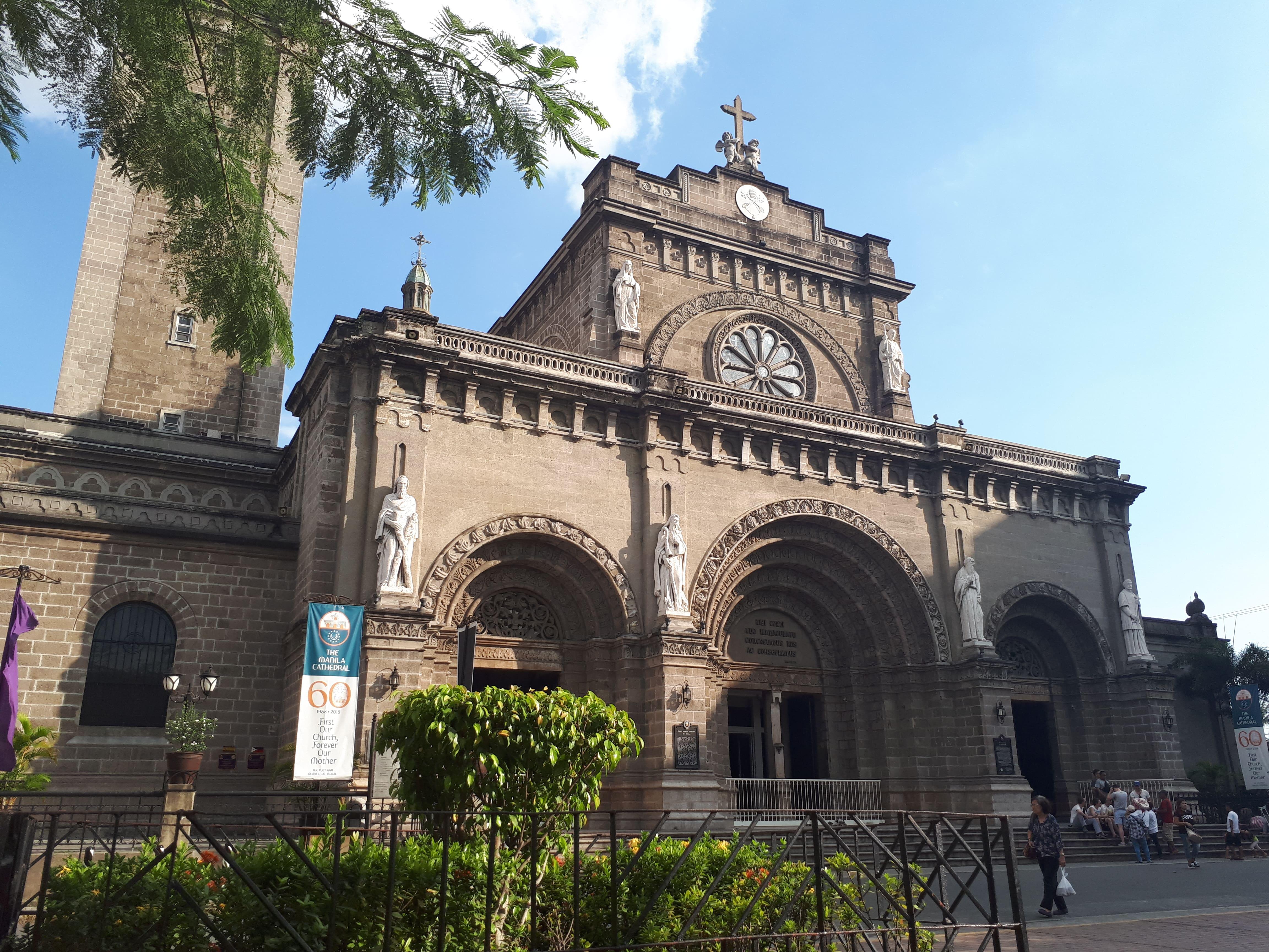 La Cathédrale de Manille