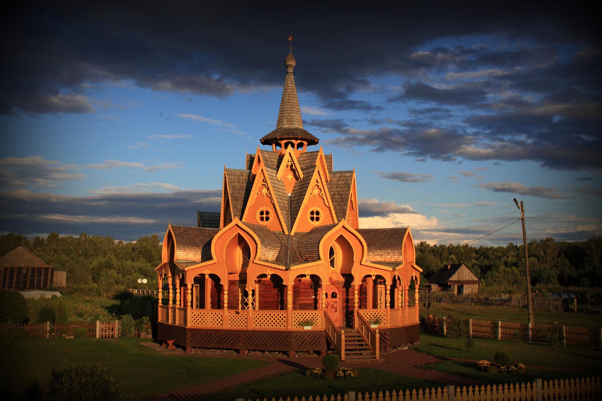 Vissarion Church, Petropavlovka, Krasnoyarsk Krai, Russia
