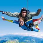 Les plus belles régions pour sauter en parachute en France