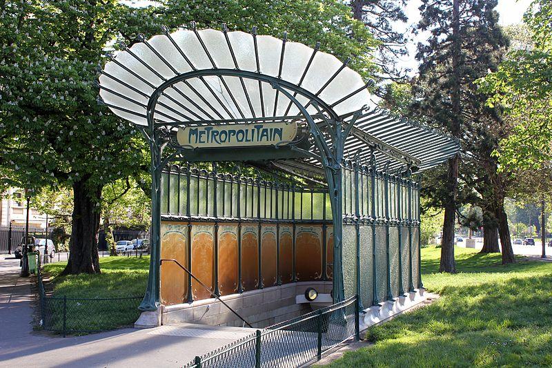 Station métro à Paris - Porte Dauphine