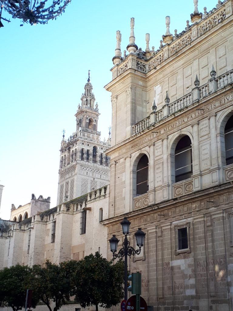 Cathédrale Notre-Dame du Siège et la Giralda - Séville
