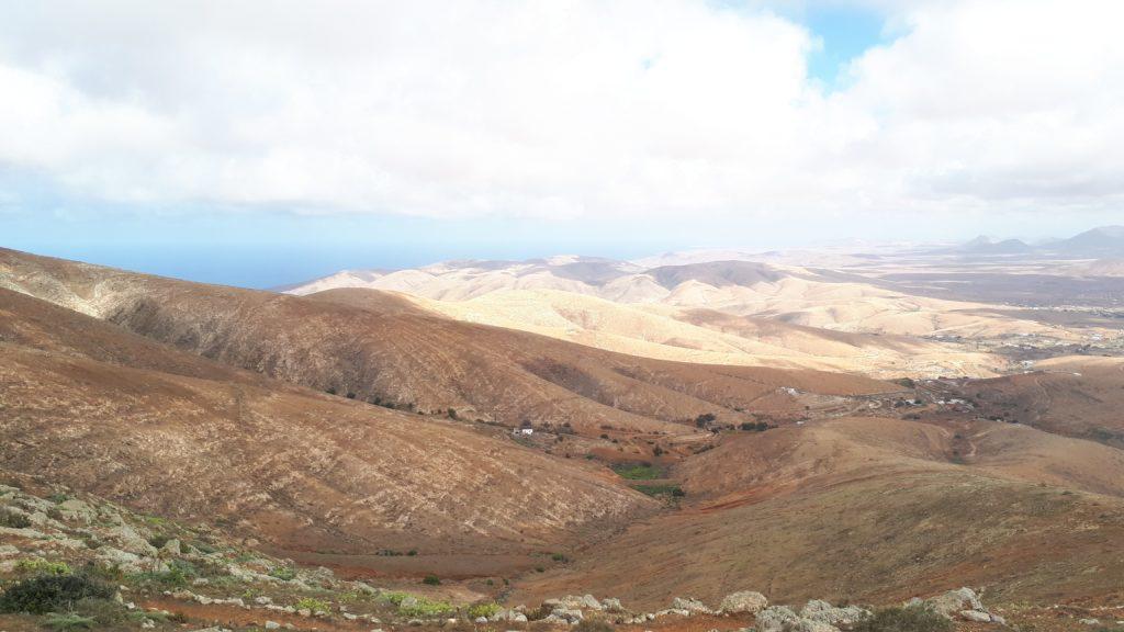 Le point de vue sur Fuerteventura à proximité du Mirador de Morro Velosa