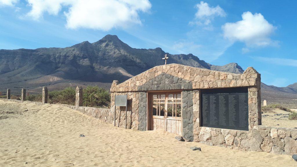 Cofete, entre sable et montagne