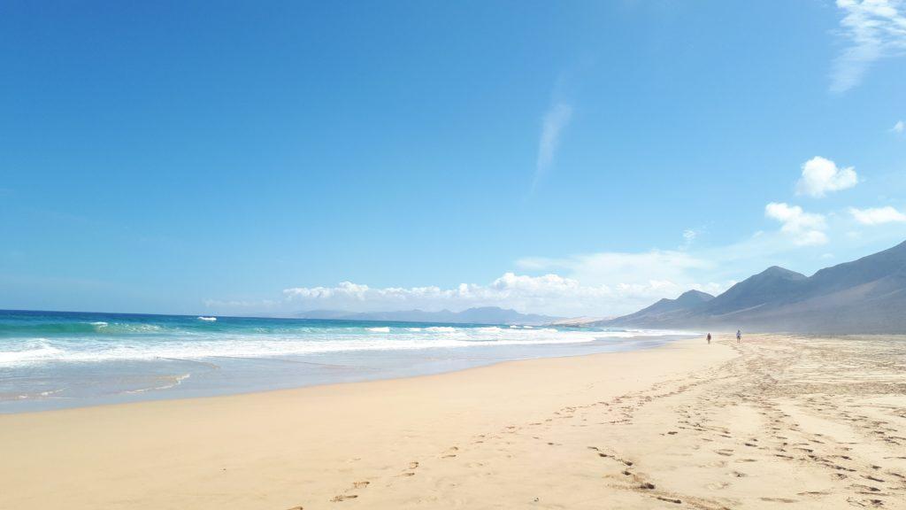 La plage de Cofete