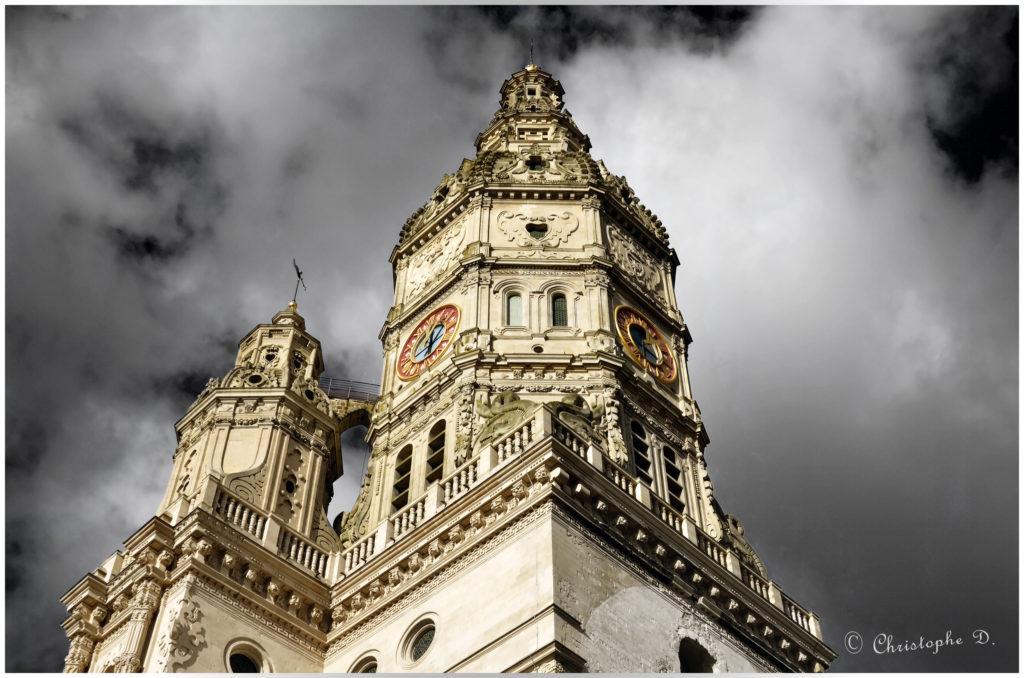 La tour abbatiale - Saint Amand les Eaux