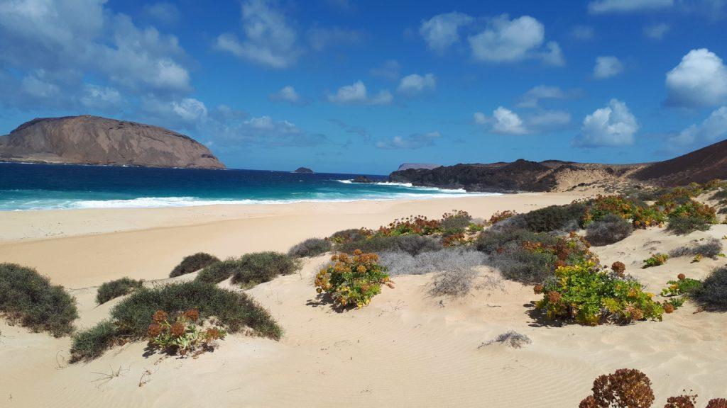 Plage de Las Conchas - Isla Graciosa