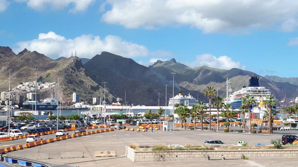 Le port de Santa Cruz de Tenerife