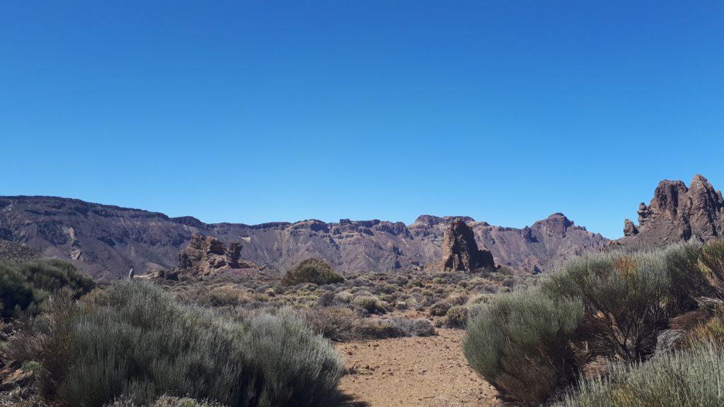 Les paysages du parc de El Teide