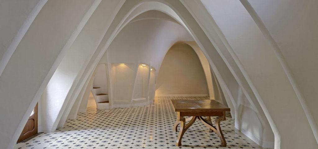 Les arcs intérieurs de la Casa Batlló