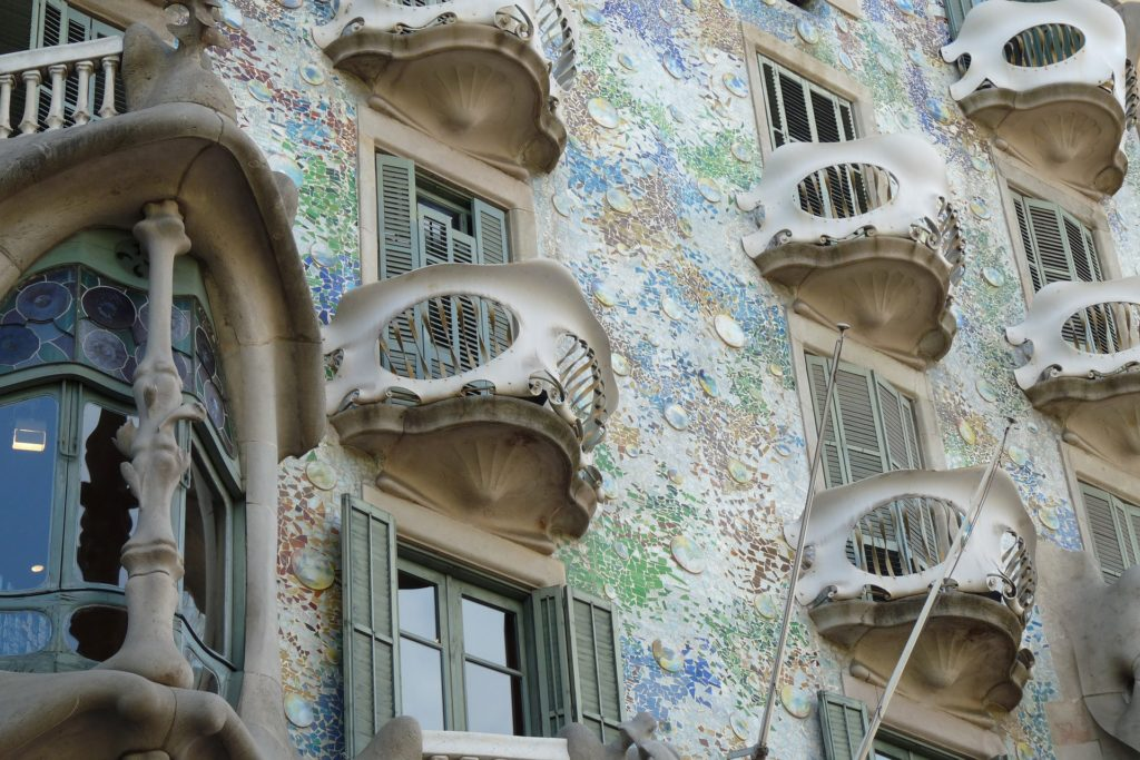 La façade de la Casa Batlló