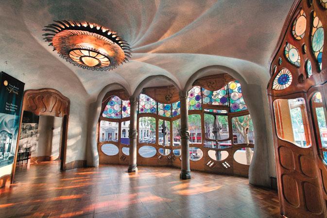L'entrée de la Casa Batlló