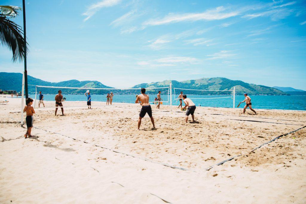 Volleyball à Rio de Janeiro
