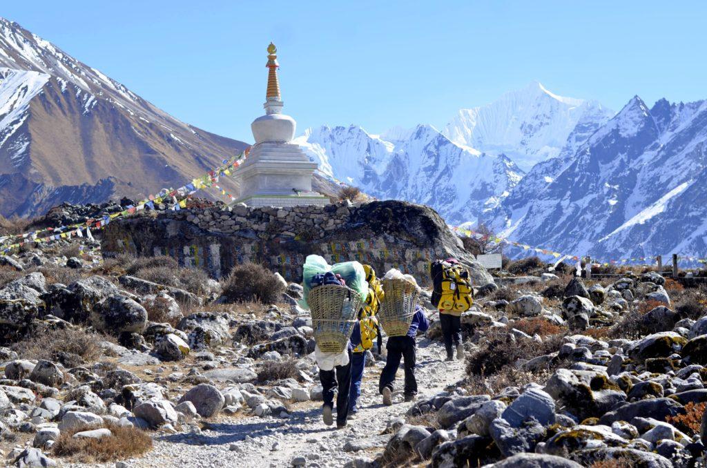 Trek dans l'Himalaya