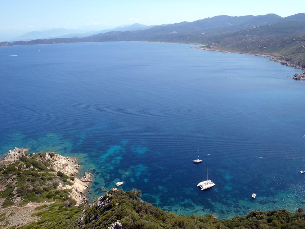 Baie de Cacalu en Corse
