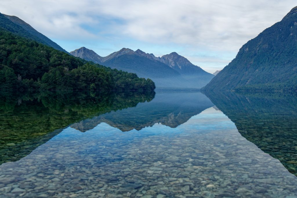 Gun Lake, Fiordland National Park, New Zeland