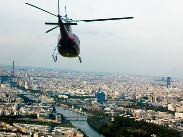 Baptême d'hélicoptère