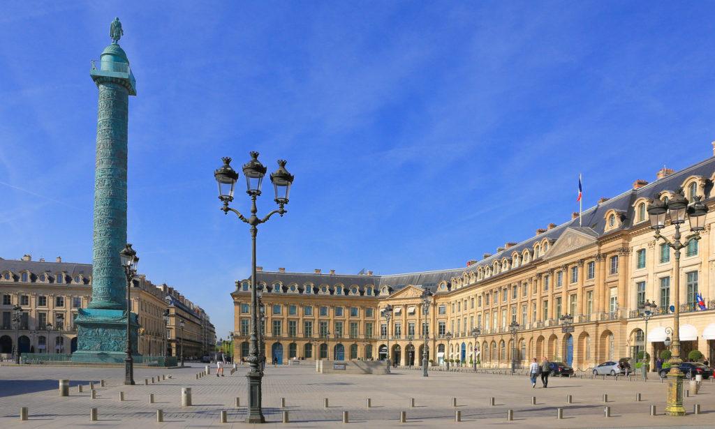 Place Vendôme à Paris